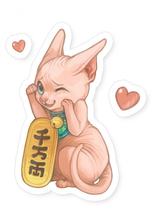 Pink Maneki Neko